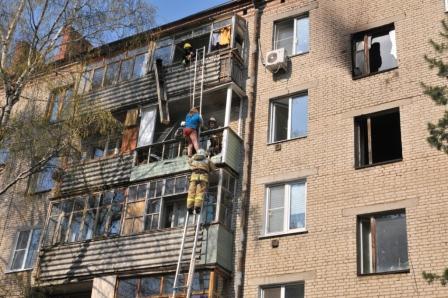 Рязанские пожарные спасли шесть человек