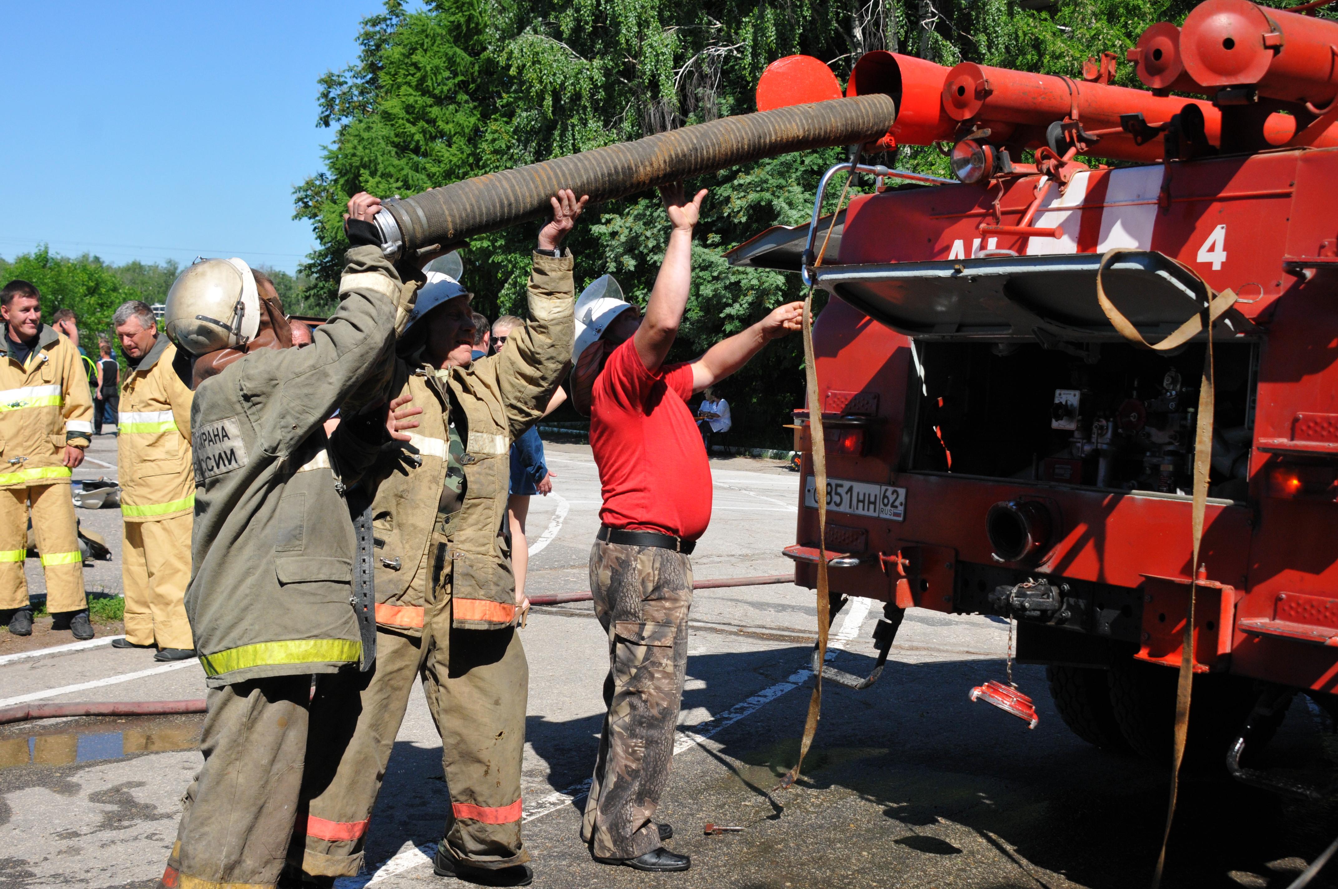 Пожарному делу учиться – вперед пригодится
