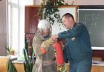 Добровольцам - о профессиональных огнеборцах