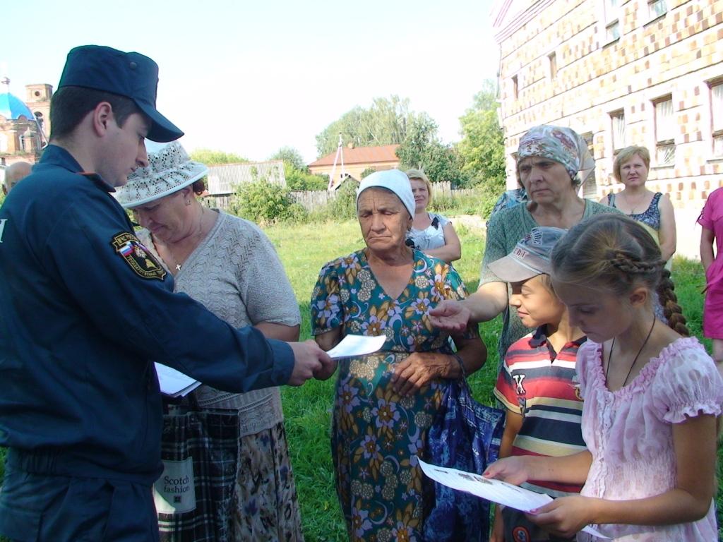 «Месячник безопасности» в Шиловском районе
