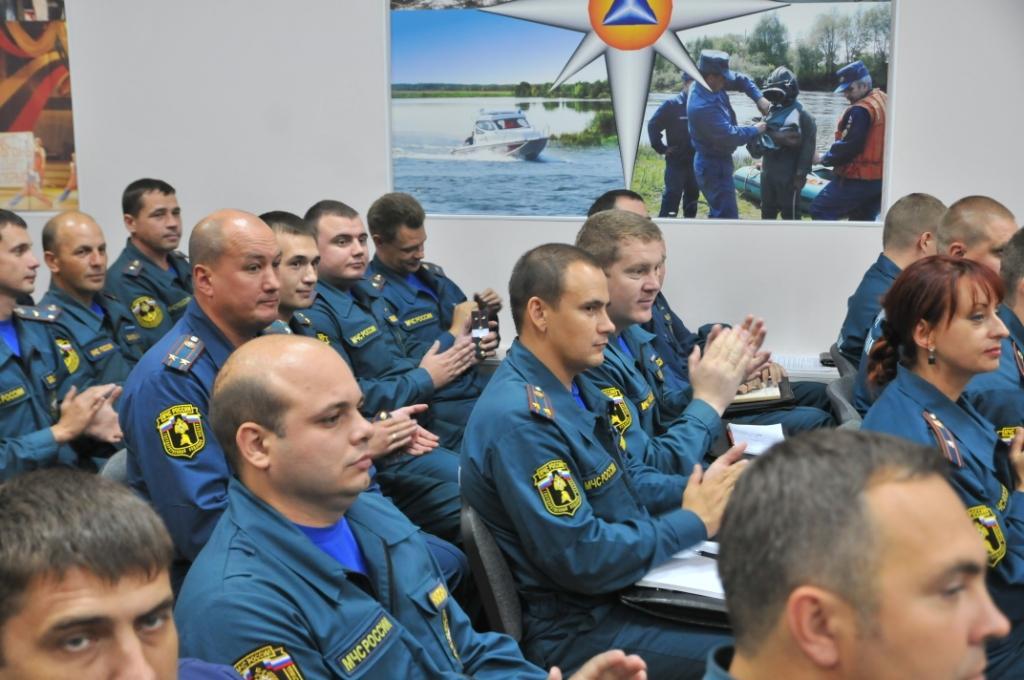 В Главном управлении МЧС России по Рязанской области состоялось торжественное мероприятие, посвященное 87-ию образования государственного пожарного надзора