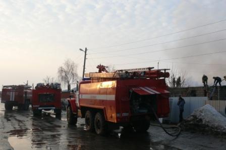 Пожар в селе Шумашь Рязанского района