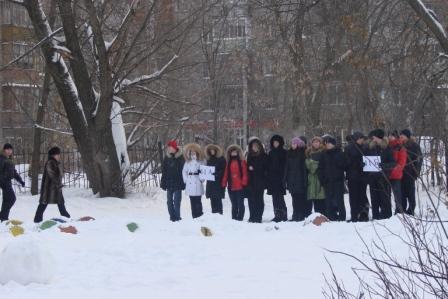 Тренировочные учения в школе № 44 города Рязани