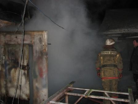 Ликвидация пожара в деревне Канищево