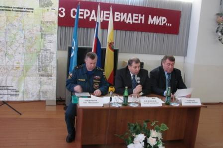 Заседание КЧС и ОПБ при Правительстве Рязанской области