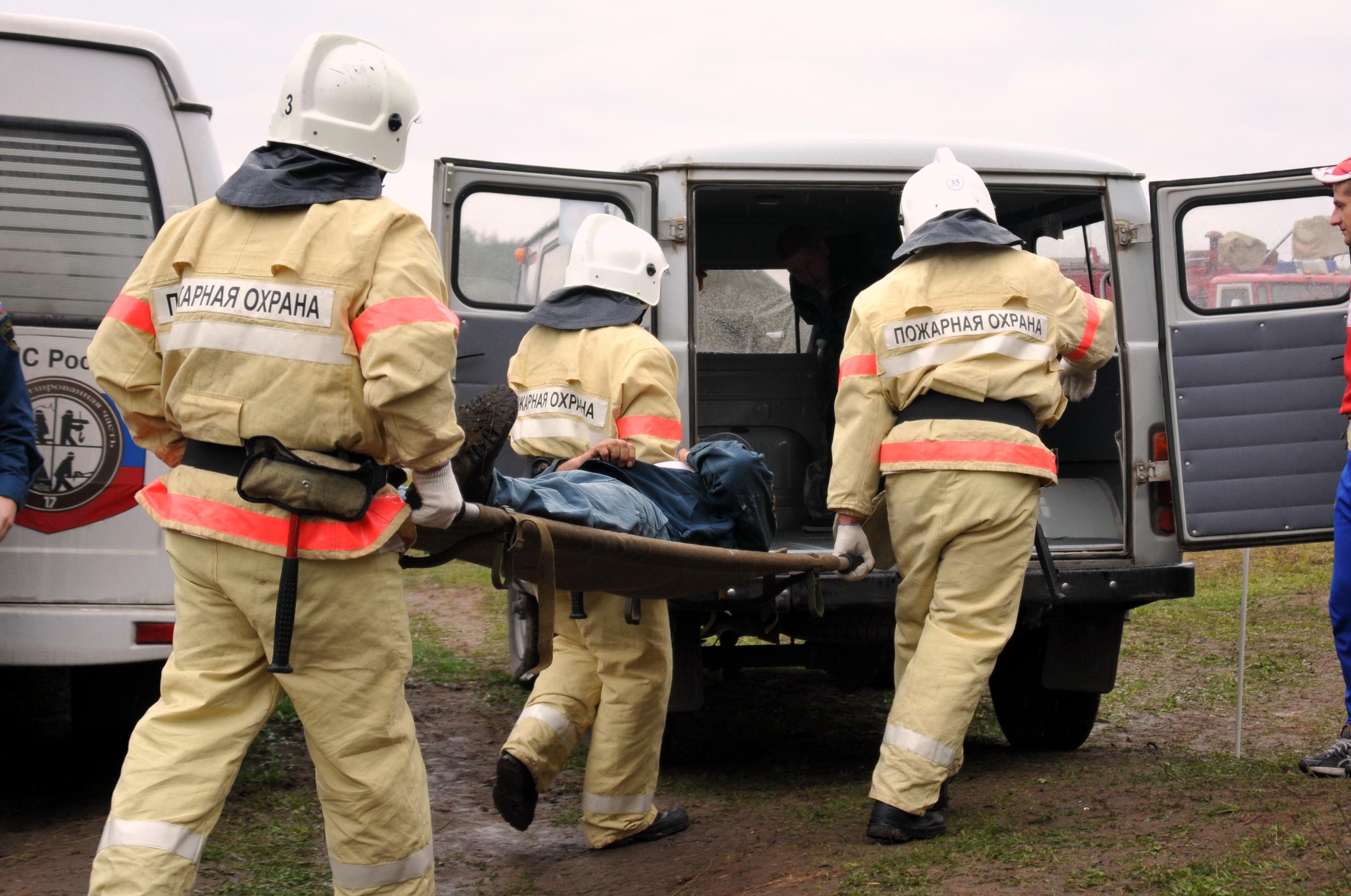 Соревнования на звание «Лучшая команда ЦРЦ МЧС России среди пожарных подразделений, эксплуатирующих пожарную технику для тушения в высотных зданиях»