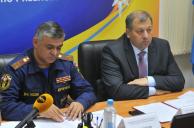 Заседание комиссии при Правительстве Рязанской области по предупреждению и ликвидации чрезвычайных ситуаций и обеспечению пожарной безопасности