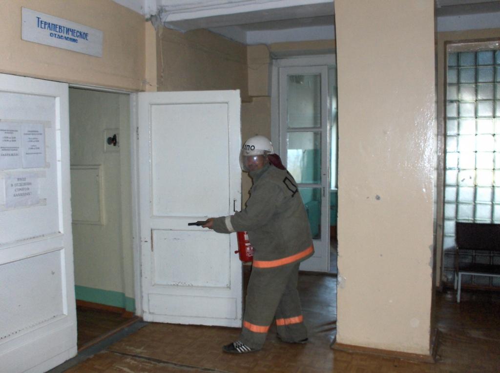 Тренировка по эвакуации