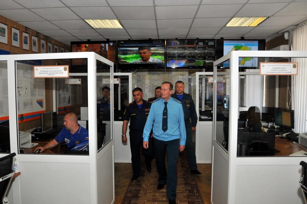 Рязанскую область посетил начальник Центрального регионального центра МЧС России генерал-лейтенант внутренней службы Олег Баженов