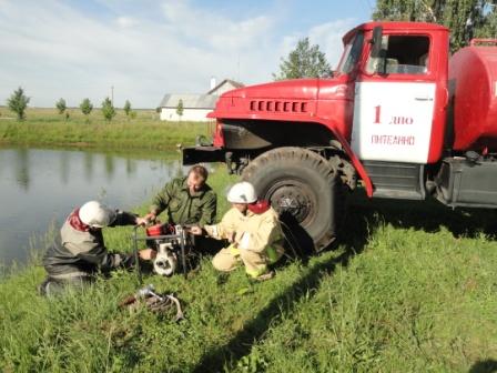Рязанские добровольцы - огнеборцы