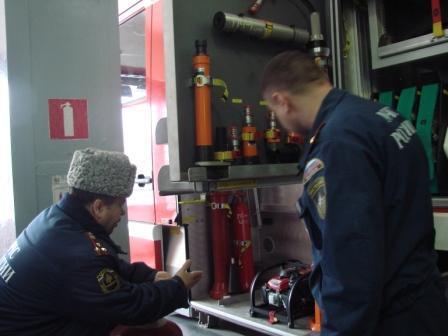Проверка готовности Рязанской области к пожароопасному периоду 2011 года