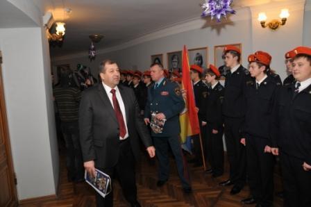 Торжественное собрание сотрудников ГУ МЧС России по Рязанской области, посвящённое подведению итогов работы за период 2011 года