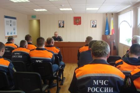 Торжественные мероприятия в честь образования спасательной службы в Рязанской области