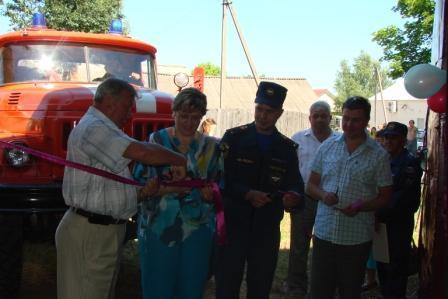 Открытие отдельного поста государственной противопожарной службы пожарной части № 25 по охране города Касимова в селе Гиблицы Касимовского района