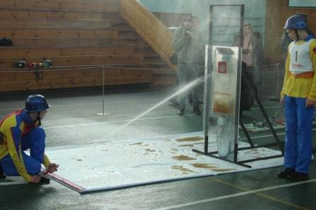 Всероссийское соревнования на Кубок Центрального совета ВДПО среди юных пожарных по европейской программе пожарно-прикладного спорта CTIF