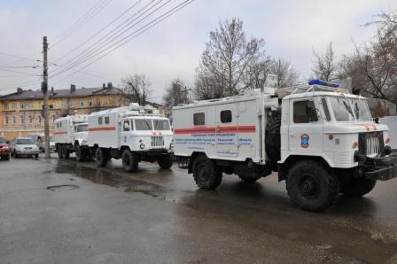 Рязанская область принимает участие в крупномасштабных учениях МЧС России
