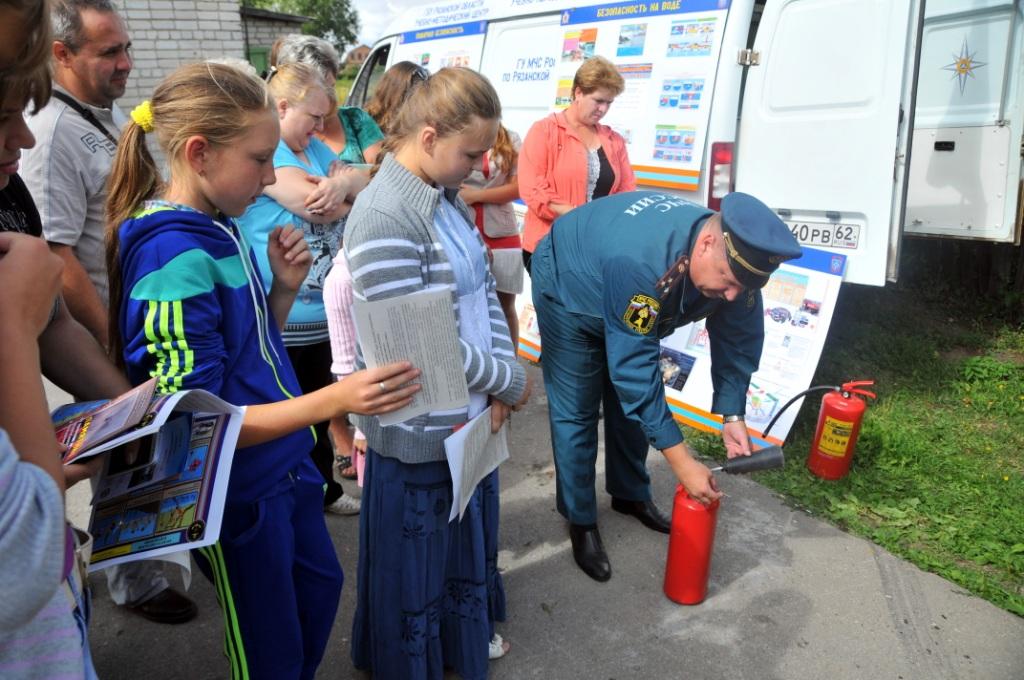 «Месячник безопасности» в Рыбновском и Сасовском районах