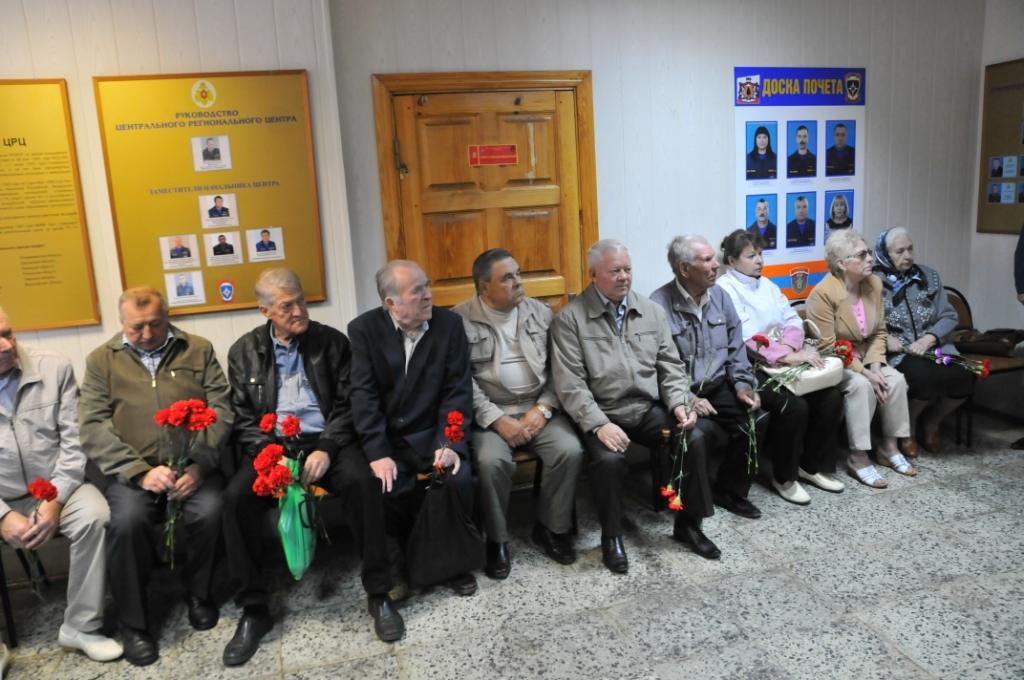 В Рязани почтили память пожарных, погибших в 1969 году