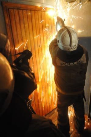 Пожар на ул. Гоголя
