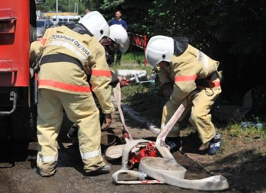Надежные помощники пожарных