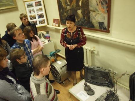 Экскурсия в музее Главного управления МЧС России по Рязанской области
