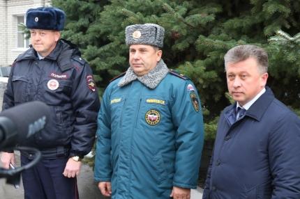 На пресс-конференции в Главном управлении МЧС России по Рязанской области рассказали, о том какие мероприятия проведены для обеспечения безопасности на дорогах