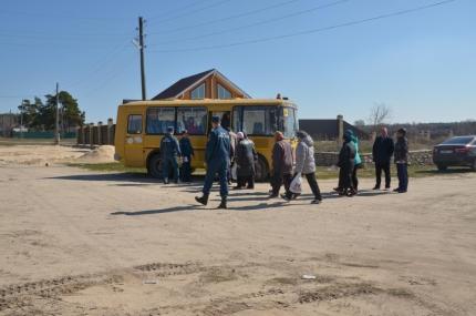 В рамках подготовке к пожароопасному периоду в Касимовском районе отработали эвакуацию жителей населенного пункта