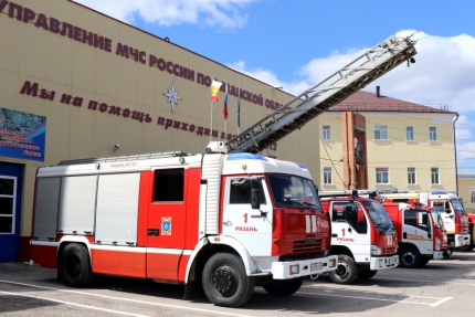 День открытых дверей в пожарно-спасательных частях