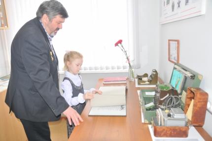 В школе №73 города Рязани прошло торжественное открытие экспозиции, посвященной трагедии на Чернобыльской АЭС