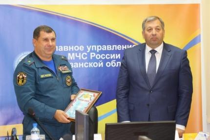 В Главном управлении МЧС России по Рязанской области подвели итоги Всероссийской тренировки по гражданской обороне