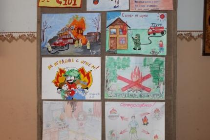 В Ряжске определили победителей конкурса детско-юношеского творчества на противопожарную тематику «Неопалимая Купина»