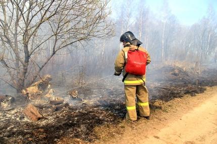 Оперативные группы контролируют пожароопасную обстановку на территории области (24,04,2018)