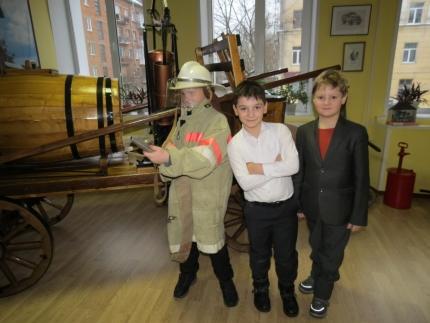 Школьникам о пожарной технике ХIX века (23.02.2017)