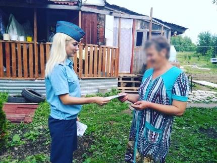 (01.07.2018) О правилах безопасности на садовых участках напомнили инспекторы госпожнадзора