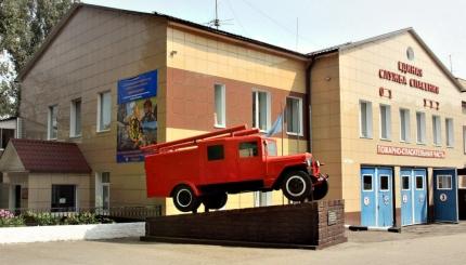 День рождения пожарно-технической выставки в городе Смоленске