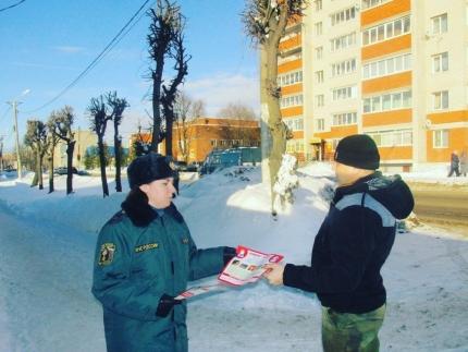 Профилактическая работа с населением Смоленской области