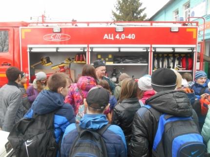 Год пожарной охраны – хороший повод посетить пожарную часть