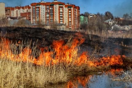 Начался пожароопасный сезон (08.04.2018)