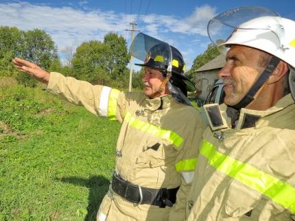 (08.06.19) Добровольные помощники в борьбе с огнем