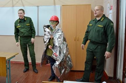 (08.11.18) Лесопожарная служба Смоленской области информирует: Лесные огнеборцы провели открытый урок по пожарной безопасности в лесах