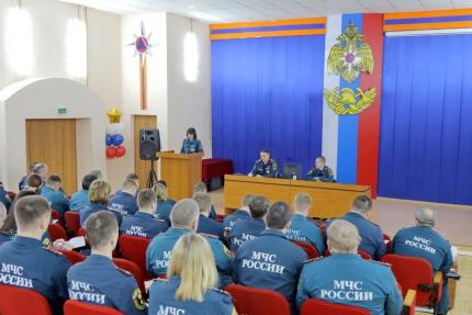 (26.02.19) В ходе учебно-методического сбора сотрудники надзорной деятельности обсудили основные направления работы