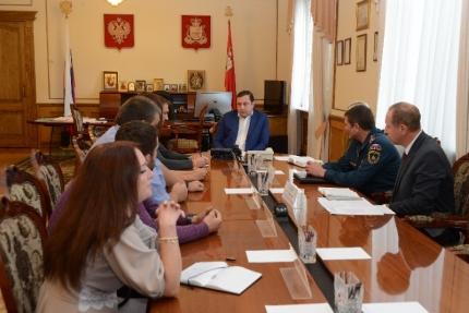 Губернатор встретился с добровольцами поисково-спасательного отряда «Сальвар»