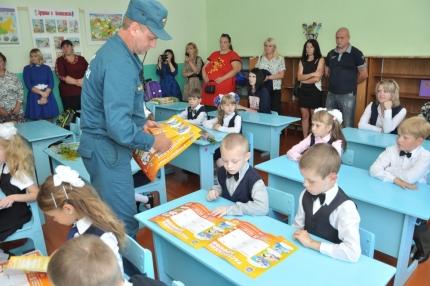Открытый урок в Шумячской средней школе