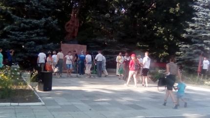 (08.08.2018) Митинг памяти