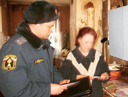 (06.03.19) В преддверии масленицы на территории Смоленской области проходят рейды по пожарной безопасности