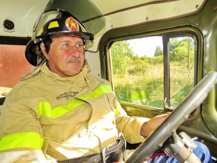 (09.10.2018) Работа подразделений добровольной пожарной охраны на территории Смоленской области
