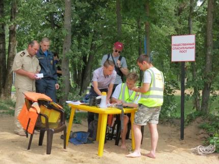 (01.07.19) Открылись спасательные посты на водоёмах в парках города Смоленска