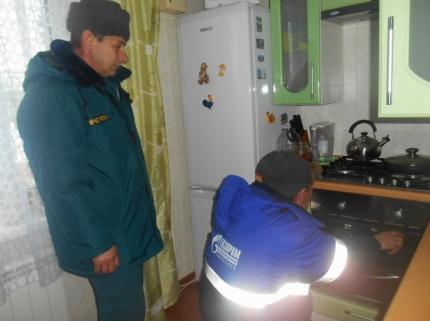 В регионе проходят рейды по проверке газового оборудования в многоквартирных домах
