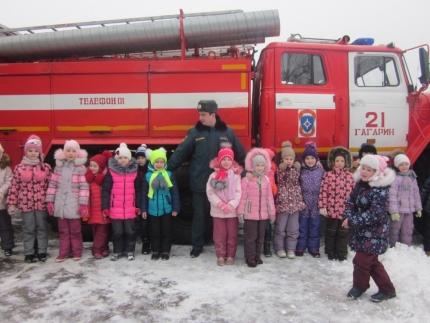Увлекательная экскурсия в мир огнеборцев