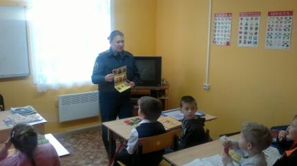 Урок пожарной безопасности в Новодугинском «Доме детского творчества»